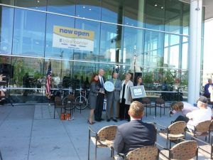 GrnVision Project Experience: RTC LEED ceremony